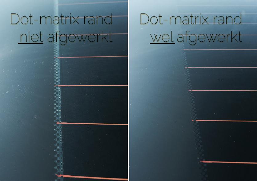 FolieFixx Dot-matrix comparisson